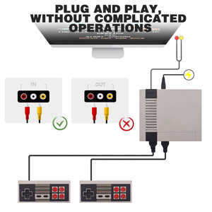 Image 5 - البيانات الضفدع التلفزيون لعبة فيديو وحدة التحكم المدمج في 620 ألعاب 8 بت الرجعية لعبة وحدة التحكم المحمولة الألعاب لاعب أفضل هدية شحن مجاني