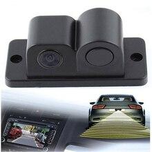 Vancago Водонепроницаемый 2 в 1 Автостоянка реверсивный радар резервного копирования заднего вида CMOS Камера Системы 170 градусов с индикатором зуммер сигнал тревоги