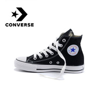 Converse Skateboarding Shoes Genuine Classic Unisex Canvas High Top Anti Slippery Comfortable Sneaksers Falt Light Shoes 102307