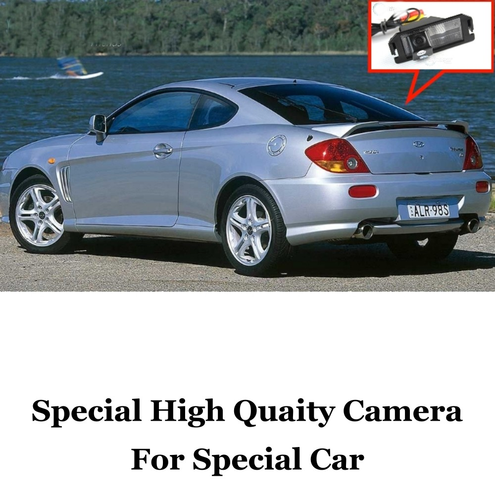Car Camera For Hyundai Coupe S3  Tuscani  Tiburon 2002~2008 High Quality Rear View Back Up Camera For Fans Use  RCA Car