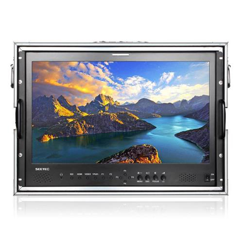 SEETEC Professional Broadcast LCD Monitor 21.5 IPS Full HD 1920x1080 Carry-on Broadcast Director Monitor with 3G-SDI HDMI AV