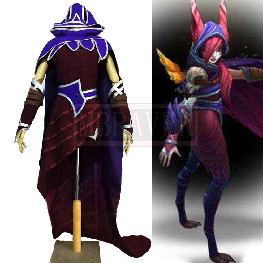 New Hot Game Lol The Rebel Xayah Cosplay Costume Custom