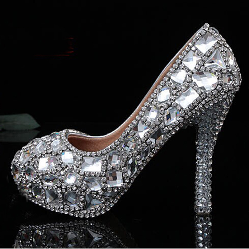 Compare Prices on Low Heel Silver Evening Shoes- Online Shopping