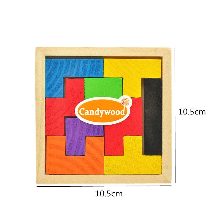 3D en bois puzzles jeux pour enfants jeu de puzzle jouets enfants Jigsaw Game