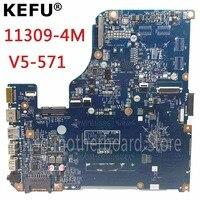 KEFU 11309 4M Motherboard For Acer Aspire V5 531 V5 571 V5 571G Laptop Motherboard Original