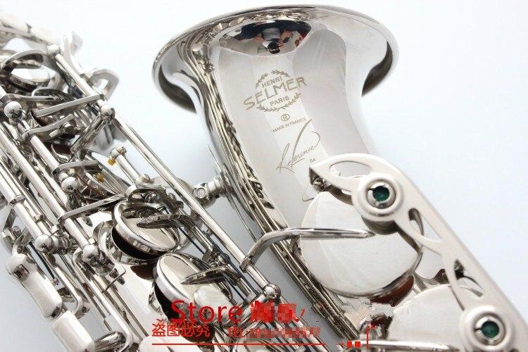 2019 New Alto Saxophone France Selme SAS R54 Eb Flat Saxofone Nickel silver Brass Sax Professional