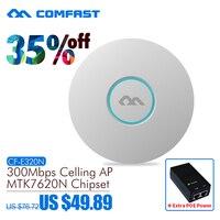 Comfast CF-E320N 300 السقف ap 300mbps 802.11b/g/n اللاسلكية ap wifi التغطية راوتر 16 فلاش wifi نقطة إضافة 48 فولت التيار