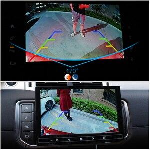 Image 5 - 170 degrés Starlight Vision nocturne Sony/CCD Fisheye lentille voiture recul caméra de recul pour moniteur de véhicule Android DVD