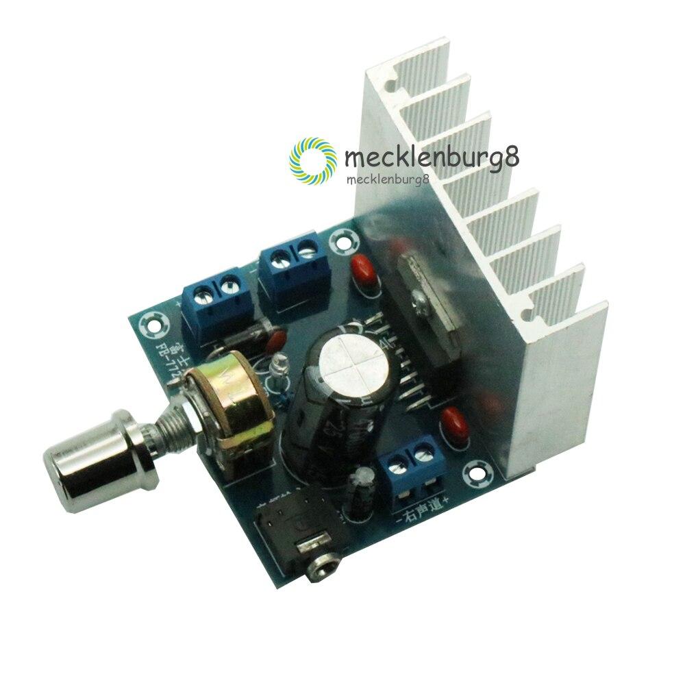 TDA7377 Amplifier Board 2.0 Double Track No Noise Amplifier Module Bookshelf Speakers DC 12V Power 35W+35W Dual-channel Board