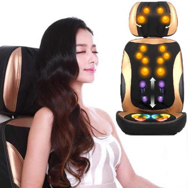 3D Massage Chair Body Massager Electric Massager Device For Sale tapping massage cushion 3d new massager whole body massage chair mat for sale