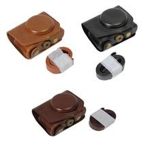 Камера видео чехол для Panasonic LX10 LUMIX LX10 DMC-LX10 из искусственной кожи Камера мешок тело комплект Обложка