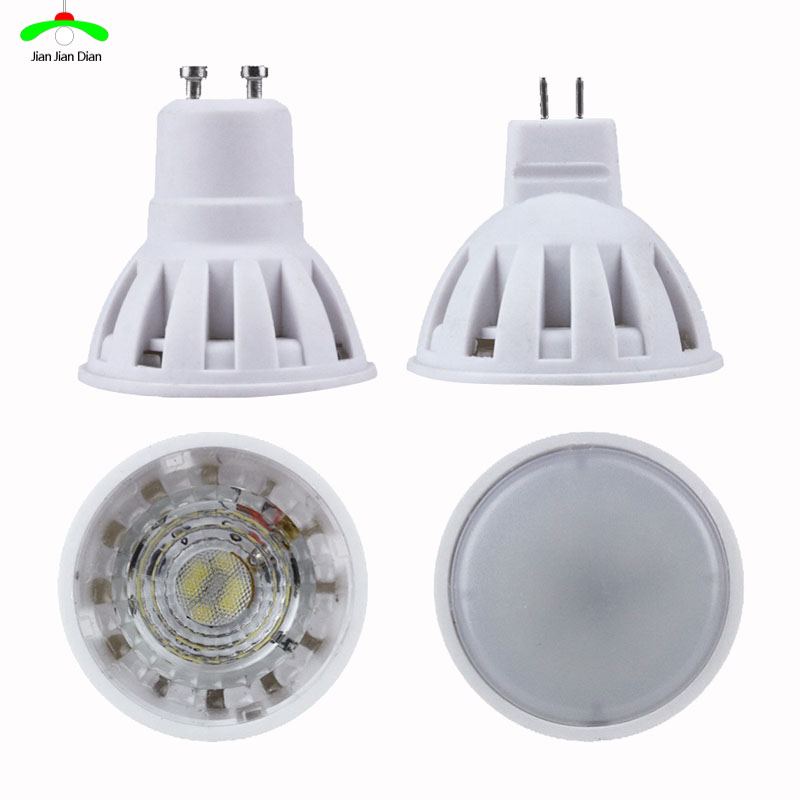 10 PCS Lampada LED Bulb MR16 GU10 220V Bombillas LED Lamp Spotlight 4W 5W LED SMD Lampara Spot Light luckyled brand bombillas led bulb spot light 3w 4w 5w 6w smd 2835 5730 gu10 led spotlight ac110v 220v for home lampada lamp