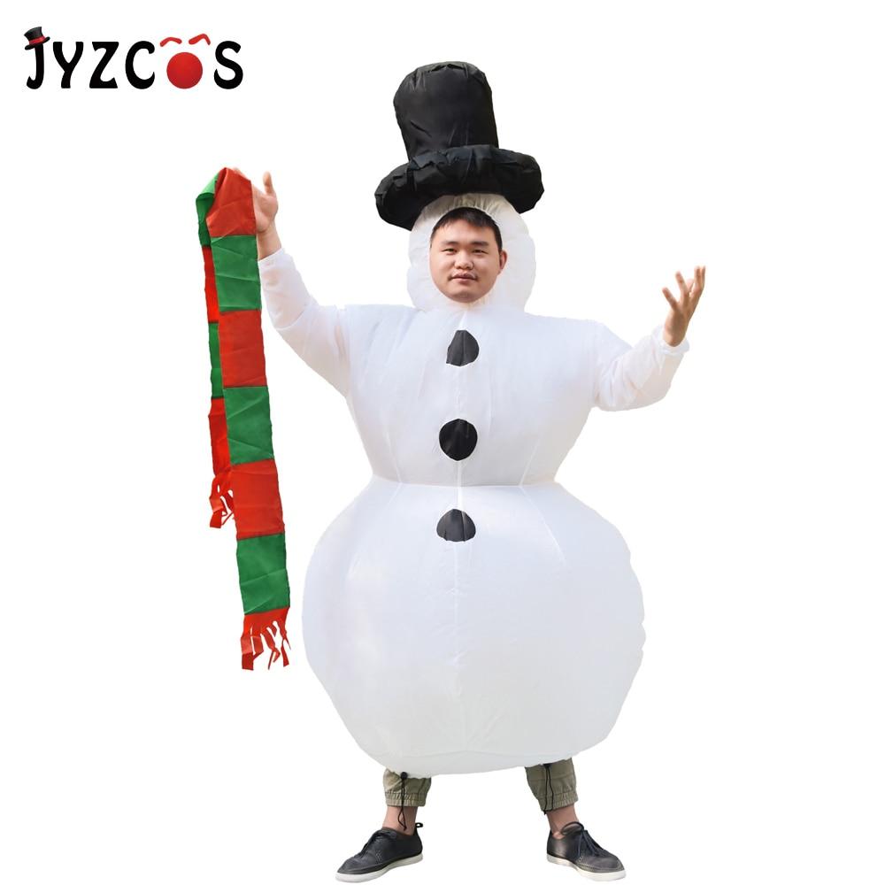 snowman costume-