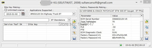 US $50 0 |et factory password creator factory password generator support  Win XP\8\10 forcat-in Code Readers & Scan Tools from Automobiles &