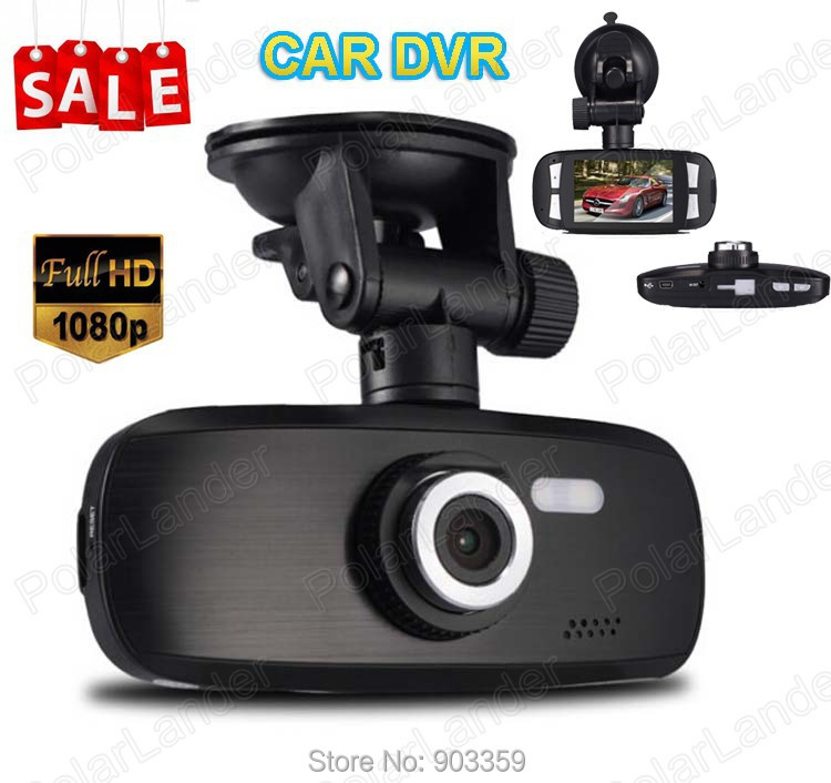 2.7 Car HD DVR Video Recorder Camera H200/NOT G1W/1080P Vehicle Traveling Data Recorder G-Sensor Motion Detection Night Vision