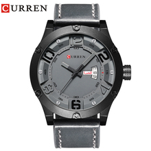 CURREN 2019 Fashion Top New Luxury Brand Relogio Masculino Week Date Diaplay Leather Strap Men Sports Watches Quartz Clock Time все цены