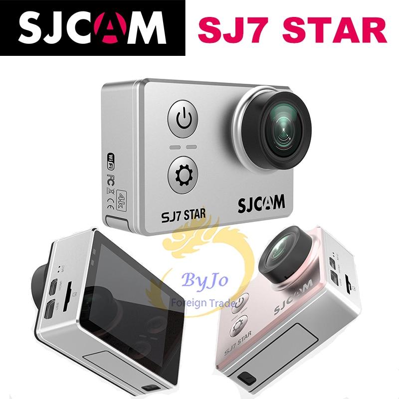 Original SJCAM SJ7 Star Sports Camera 4K camera HD 2.0 Touch Screen Remote Waterproof Sports Action Camera