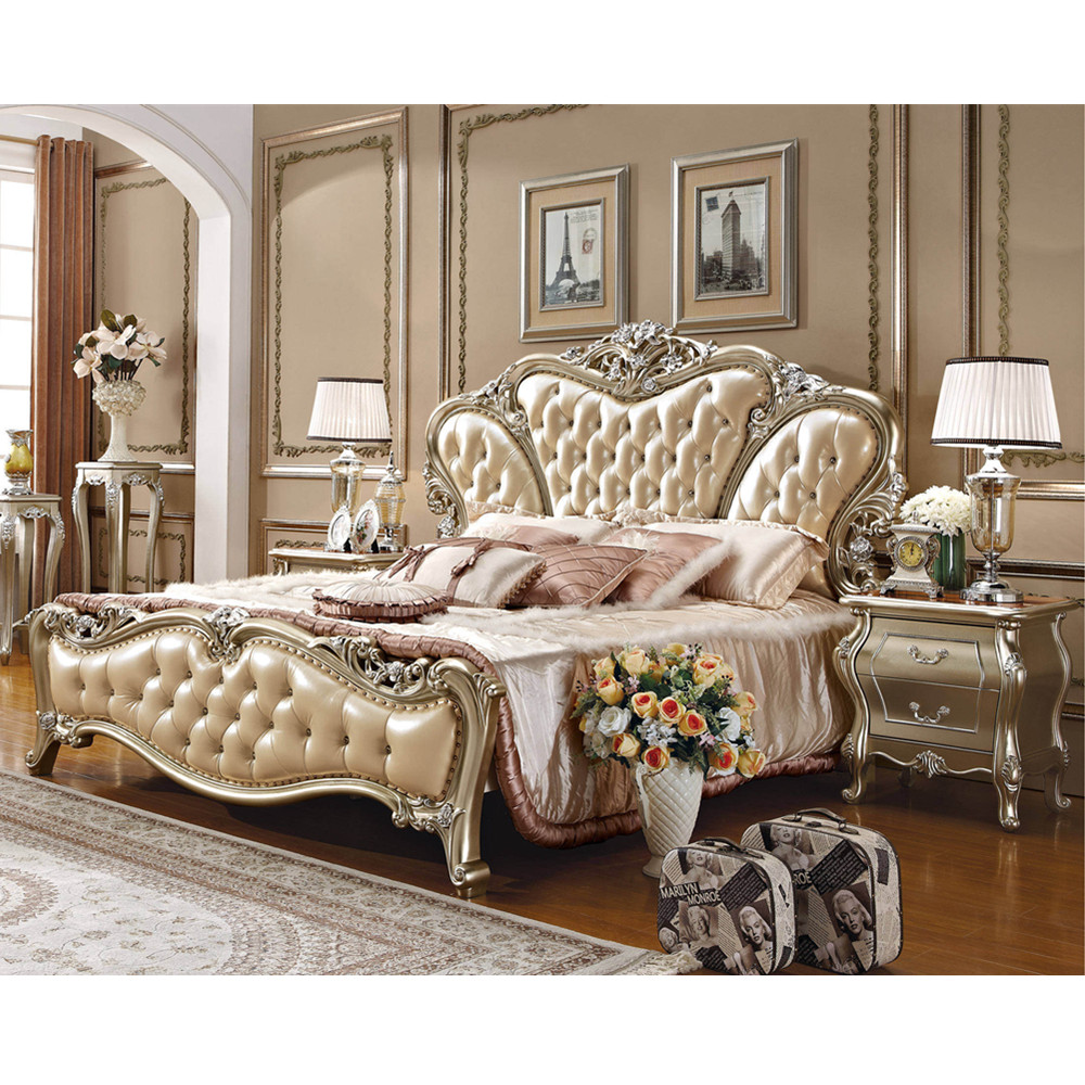 US $890.0 |Chinese genuine leather antique bedroom wooden door designs-in  Bedroom Sets from Furniture on AliExpress - 11.11_Double 11_Singles\' Day