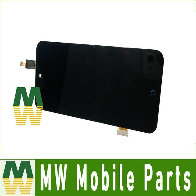 Cor preta 1 pc/lote para zte blade x5 lcd sreen display lcd + touch screen digitador assembléia toque