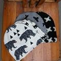 Nuevo Invierno Cálido Muchacho Del Niño Del Algodón Del Bebé Del Sombrero y bufanda infantil Kids Caps Animal Encantador de Primavera bebé niño tapa y bufandas