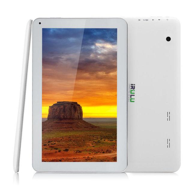 Original iRULU eXpro X1 Plus 10.1» Tablet Quad Core 1GB 16GB  Android 5.1 Tablet 5500mAh Bluetooth WiFi Dual Cam 2MP
