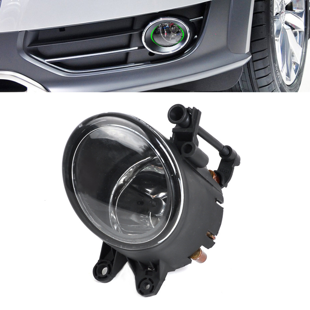 beler Black Front Left Fog Light Lamp for Audi A4 B6 A4 B7 A4 Quattro 2001 2002 2003 2004 2005 2006 2007 2008 8E0941699B mzorange for toyota prado 120 2700 4000 for land cruiser lc120 2002 2003 2004 2005 2006 2007 2008 2009 front fog light fog lamp