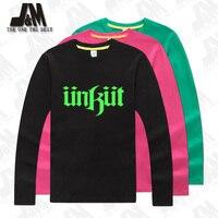 Unkut camiseta party camiseta de alta calidad de la camiseta 100% algodón brillan en la oscuridad 4XL, 5XL, 6XL