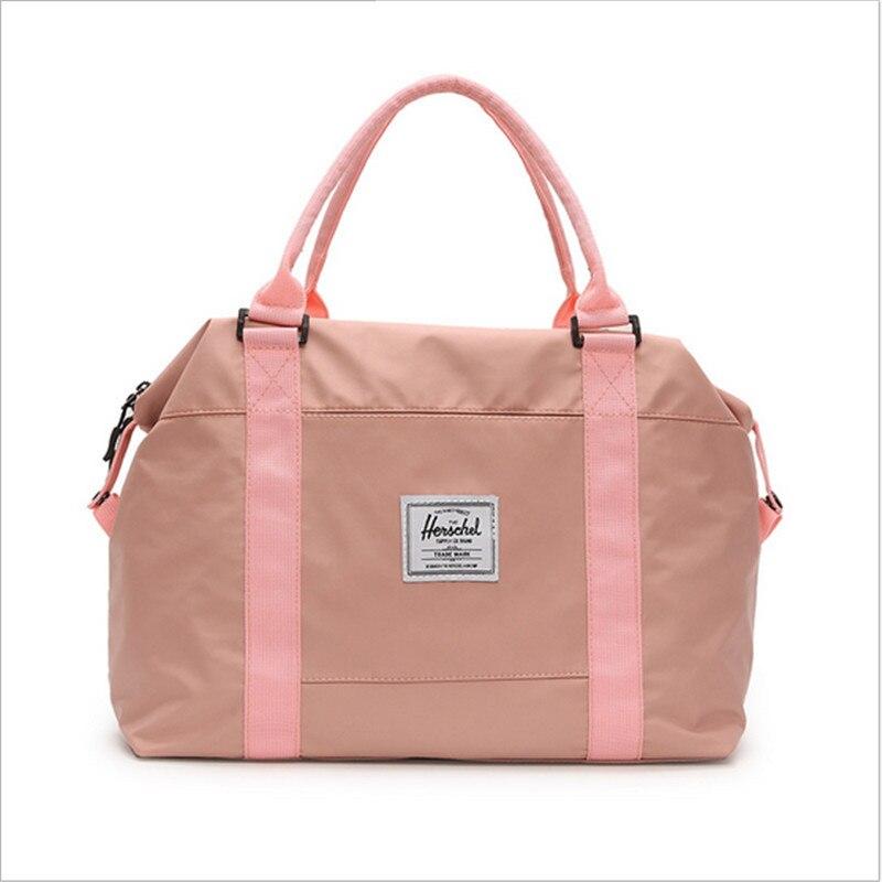 Detalle Comentarios Preguntas sobre Mujer viajes bolsa de deporte Mujer  Fitness hombro bolsa de Yoga impermeable bolso de viaje bolsas de deporte  en ... 94675627e0c80