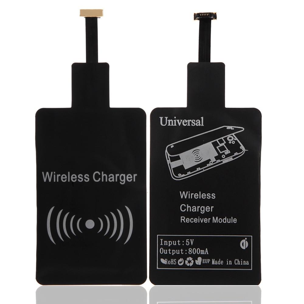 Qi Wireless Charger Adapter Adapter Bluetooth Mini Jack Oneplus 5 Usb C Adapter Kingston M 2 Pcie Adapter: Qi Wireless Charger Receiver Charging Adapter Receptor
