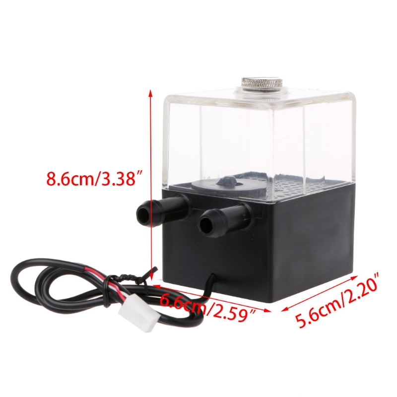 High Quality SC-300T 12V DC ultra-quiet Water pump Tank for pc CPU Liquid Cooling computer System 6162 63 1015 sa6d170e 6d170 engine water pump for komatsu