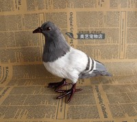 simulation small dove 22x10x18cm toy model polyethylene&furs dove model home decoration props ,model gift d089