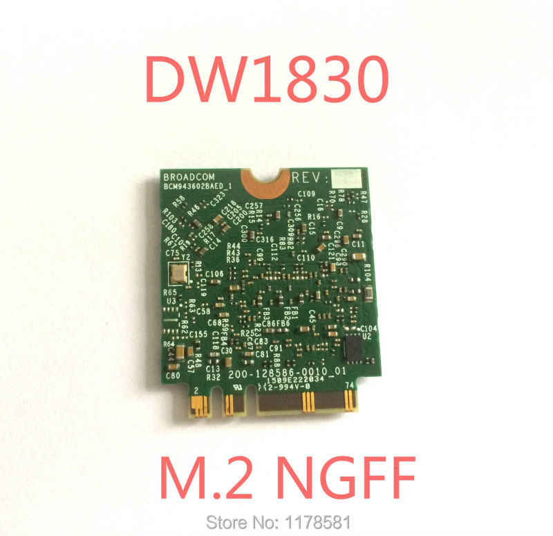 BCM943602BAED DW1830 ac NGFF 1300Mbps BT4 1 0HHKJD HHKJD WiFi Wireless  Network Card better than BCM94352Z DW1560 support mac os