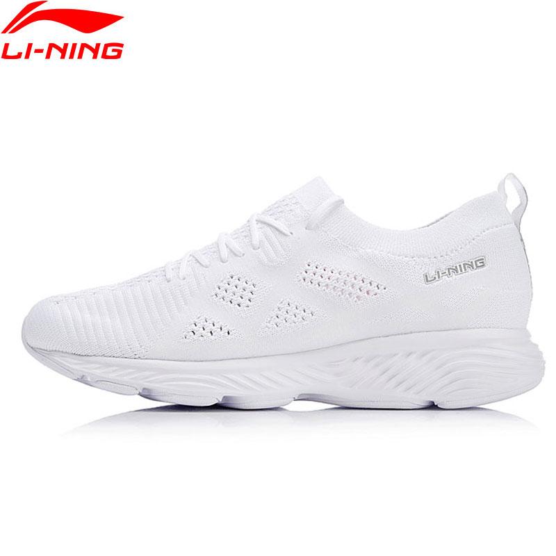 Li Ning Women LN CLOUD III 2018 Running Shoes Wearable Mono Yarn LiNing Cushion Sports Shoes