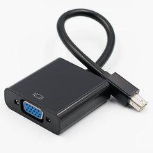 มินิสายฟ้ามินิจอจอแสดงผลพอร์ตมินิDPที่จะสายVGA Adapter 1080จุดสำหรับM Acbook Air P Ro iMac Mac