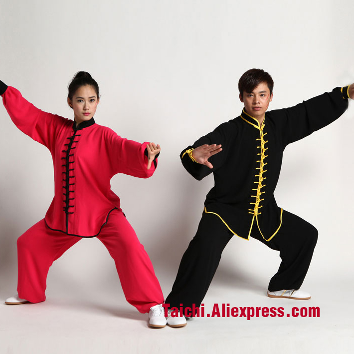 Men And Women Tai Chi Uniform ,Special Buttons Performance  Wushu, Kung Fu,martial Art Suit