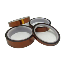 лучшая цена 12mm/15mm/20mm/24mm/30mm/50mm Anti Heat Tape Resistant Polyimide With Adhesive Hot