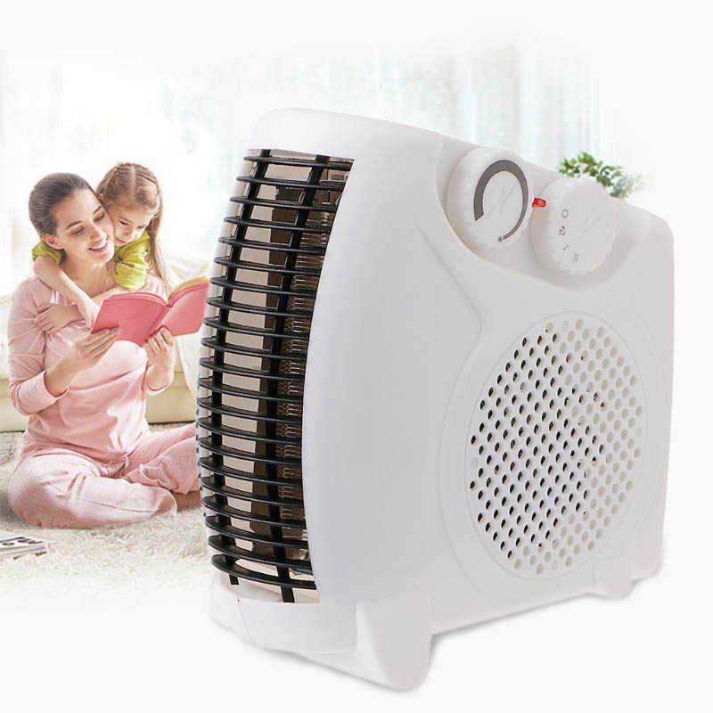 Mini Elektrische Heizung Kalt warm air fan Tragbare Raum Home Büro Winter Herd Hand Warme Fan Luft Heizung Herd Heizkörper wärmer