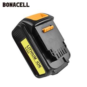 Image 4 - Bonacell For DeWalt 18V 6000mAh Battery Power Tools Batteries Replacement MAX XR DCB181 DCB182 DCD780 DCD785 DCD795 L70