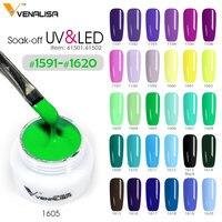 #61501 Canni supply venalisa 5ml 180 color soak uv/led nail art DIY design gel nail polish lacquer nail design painting gel ink