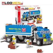 2016 New 163pcs set DIY Building Blocks Toy big truck font b Action b font font