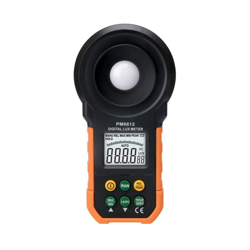MS6612 Digital Luxmeter 200 000 Lux Light Meter Test Spectra Auto Range Hot Worldwide Light Illuminance Measuring+Gift|Level Measuring Instruments| |  - title=