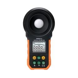 MS6612 cyfrowy Luxmeter 200 000 miernik światła lux Test Spectra Auto zakres gorący na całym świecie pomiar natężenia oświetlenia + prezent