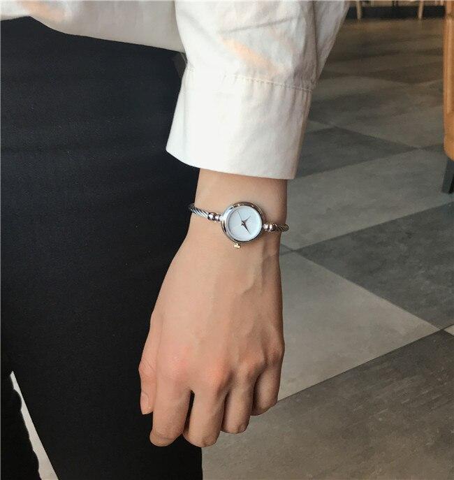 2019 Hot Sale  Elegant Ladies Bracelet Watch Women New Arrival Gold & Silver Strap Reloj Hombre Relogio Feminino Female Watches