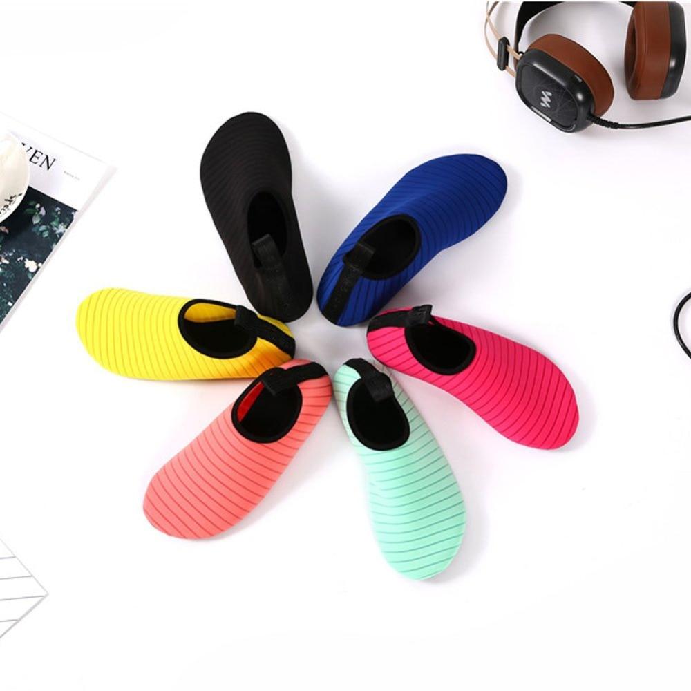 Water Sports Shoes Barefoot Quick-Dry Aqua Yoga Socks Slip-on for Men Women 2