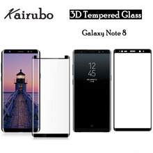 For Tempered Glass Samsung Galaxy Note 8 Screen Protector Note8 3D Full Cover