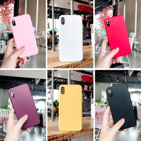 5 iphone 5s Candy Color Phone Case for iPhone 7 Case 6 6s 8 Plus 5 5S 5Se Solid Color Soft Matte TPU Back Cover for iPhone X XR XS MAX Cover (1)
