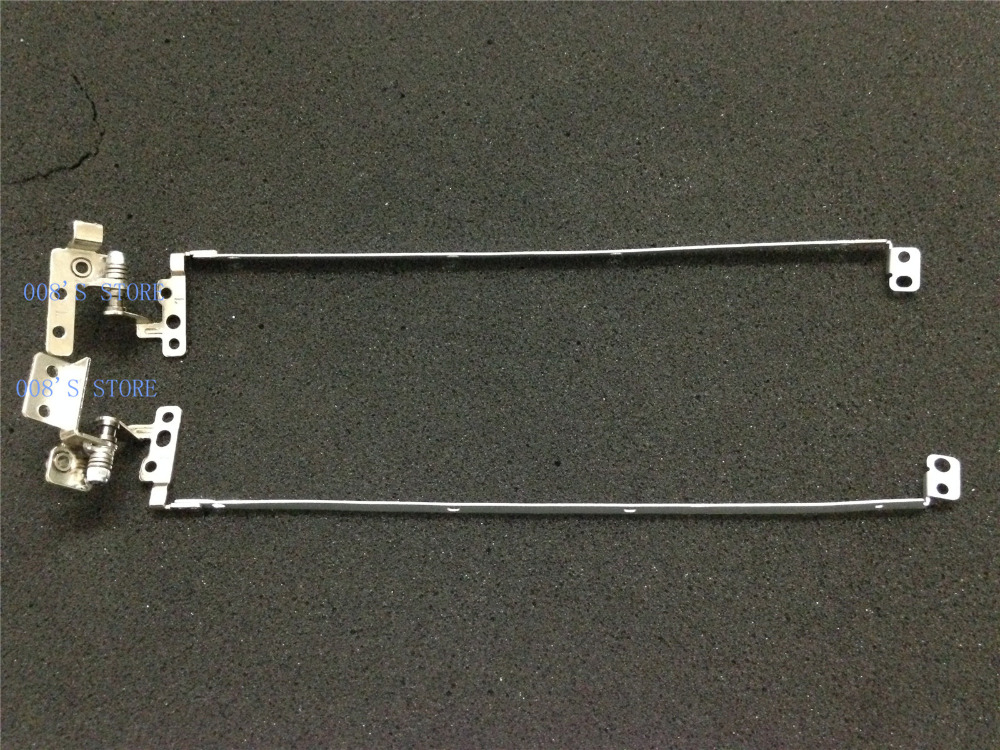 For HP Probook 4530s Laptop L+R Screen Lid Hinges 6055B0019701 6055B0019702 Used