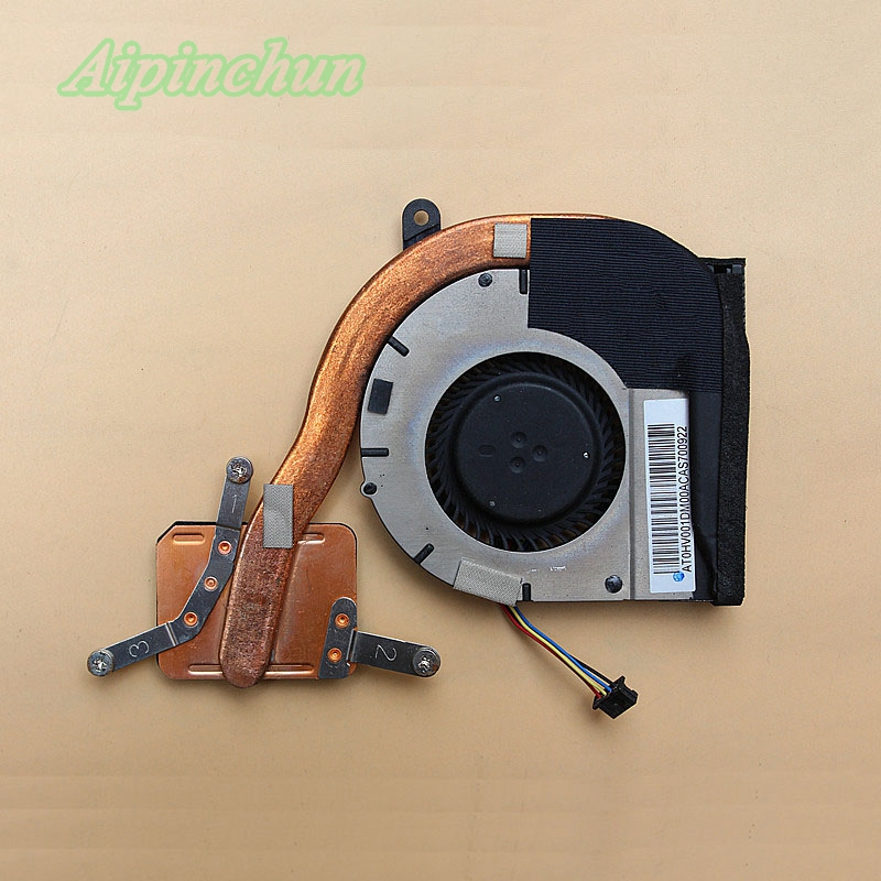 New Original Heatsink & Fan For Lenovo Thinkpad E220S S220 Laptop Cooling Cooler Fan KDB0605HB-AK90
