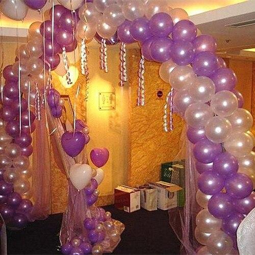 100pcs Lot Birthday Wedding Celebration Balloon Arch Round BuckleWedding DecorationsBalloons Accessory Ballon Buckles In Balloons From Toys Hobbies