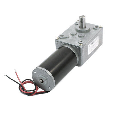 12V 7mm Shaft Reduction Ratio 7000RPM/14RPM DC Worm Geared Box Motor XWJ цены